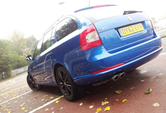 Skoda Octavia vRS Blackline estate 2.0 TDI CR 170PS